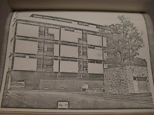 Friedland Life Science Building. Architects: Shepley, Bulfinch, Richardson & Abbott. Built 1956-58.