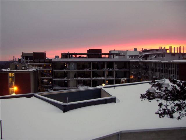 Winter Sun Sets Over Friedland